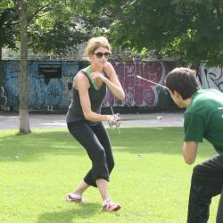 Training with Andrea Lupo Sinclair Oslo 2012 bilde 1