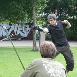 Training with Andrea Lupo Sinclair Oslo 2012 bilde 7